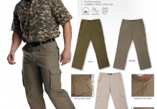 Barron Corporate PA-CAR Mens Cargo Pants - Cotton Canvas
