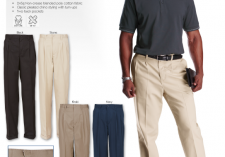 Barron Corporate PA-UCH Mens PolyCotton Chino Pants