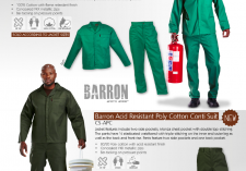 Barron Protective Clothing CS-CF