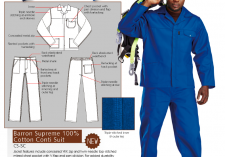 Barron Protective Clothing CS-SC