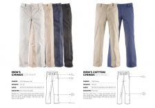 mens-twill-chinos-cotton-chinos OCHINOP & OCHINOC