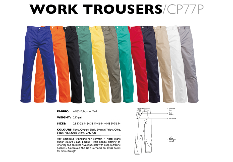 Work Trousers CP77P