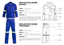 reflective-work-jacket-trousers CJ77HT & CP77HT