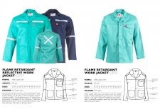plain-reflective-flame-retardant-work-jackets CJ87F & CJ77JT