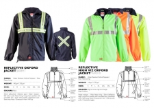 reflective-oxford-reflective-high-viz-oxford-jackets J608HT & WR010