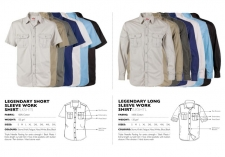 legendary-long-short-sleeve-khaki-work-shirts LKSHTS & LKSHTL