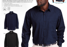 Barron Clothing LO-UNI Mens Unity Check Shirt Long & Short Sleeve