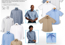 Barron LL-OX - LO-OX Mens & Ladies Long & Short sleeve Oxford Lounge Shirts