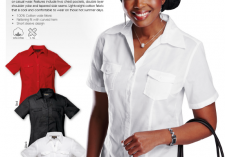 Barroness LL-CO-SS Ladies Corporate Blouse Short Sleeve