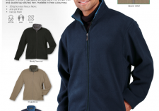 Barron Outdoor BF-CON Contemporary 350g Bonded Fleece, Full Zip