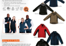 Barron 4-1-JAC - L4-1-JAC Mens & Ladies Waterproof 4-in-1 Jacket + Vest