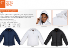 Barroness LST-JAC Ladies Studio Padded Jacket